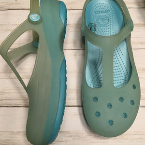 CROCS Shoes - Crocs Chameleons Carlie Mary Jane (Women's)